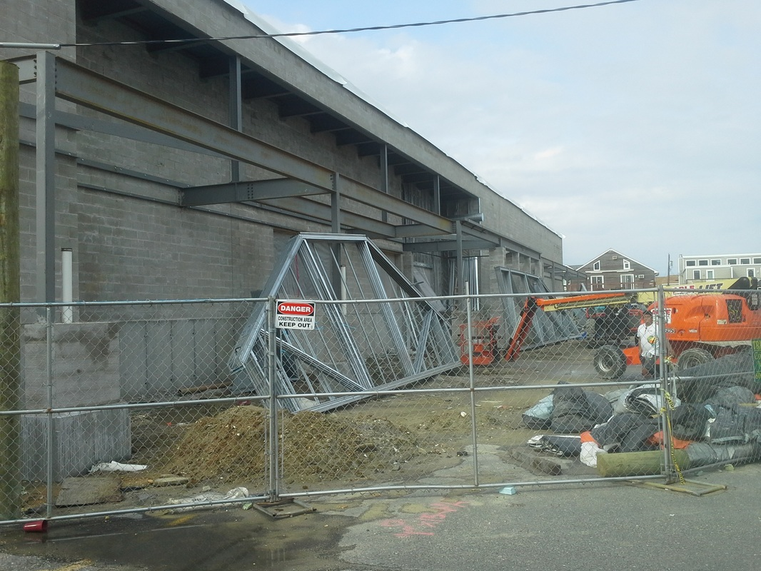 Construction of Sea Isle Acme