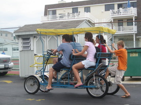 Sea isle City bike rental